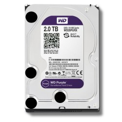 HDWD2TB DISCO DURO 2 TB Western Digital WD SERIE PURPLE especial para video vigilancia