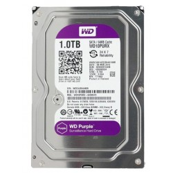 HDWD1TB DISCO DURO 1 TB Western Digital WD SERIE PURPLE especial para video vigilancia