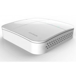 JVS-VN7004-D01 Mini NVR Vídeo Grabador de Red, Protocolo ONVIF hasta 4 canales IP, con puertos VGA y HDMI.