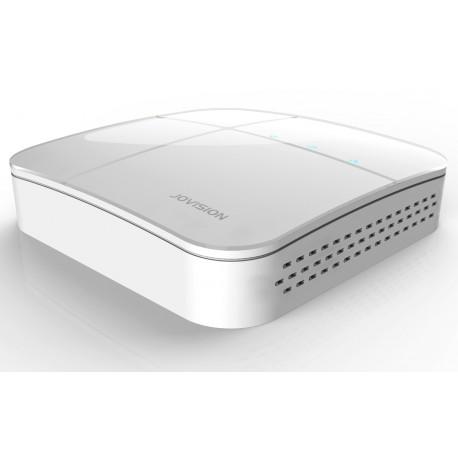 JVS-VN7008-D01 Mini NVR Vídeo Grabador de Red, Protocolo ONVIF hasta 8 canales IP, con puertos VGA y HDMI.